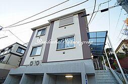 神奈川県藤沢市藤沢の賃貸アパートの外観