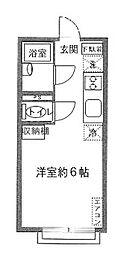 カーム・ハウス明神町[2階]の間取り