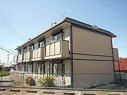大阪府羽曳野市野々上5丁目の賃貸アパートの外観
