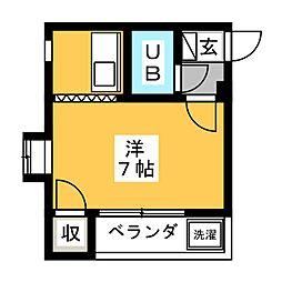 シルクルーム[1階]の間取り