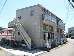 東京都八王子市中野上町1丁目の賃貸アパートの外観