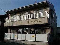 静岡県浜松市中区泉1丁目の賃貸アパートの外観
