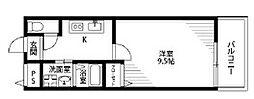 アムール松谷II(ツー)[1階]の間取り