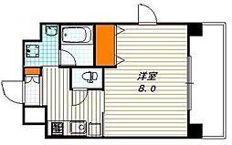 アスヴェル京都四条烏丸[2階]の間取り