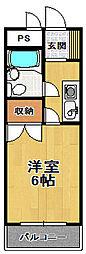 河村マンション[3階]の間取り