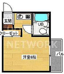 第11長栄シャトー泉[306号室号室]の間取り