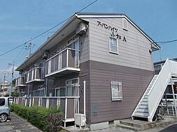 広島県福山市千田町3丁目の賃貸アパートの外観