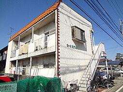 愛媛県松山市枝松3丁目の賃貸アパートの外観
