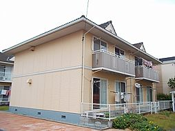 岡山県総社市中央の賃貸アパートの外観