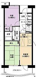 URアーバンラフレ小幡4号棟[2階]の間取り
