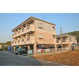 岡山県岡山市中区土田の賃貸マンションの外観