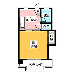 SPACE YOU[3階]の間取り