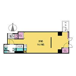 KAKOビル[5階]の間取り