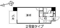 ロワジールY[6階]の間取り