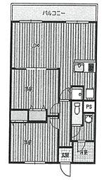 セビーヌ武庫之荘参番館[205号室]の間取り