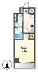 愛知県名古屋市東区山口町の賃貸マンションの間取り