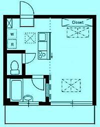 ルネスガーデン[2階]の間取り