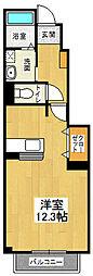 ソレイユ北島2 C[102号室]の間取り