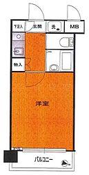 パーク・ノヴァ横浜阪東橋弐番館[8階]の間取り