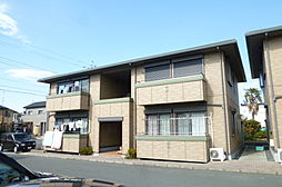 静岡県浜松市南区三和町の賃貸アパートの外観