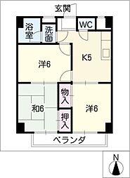 双栄ビル[7階]の間取り