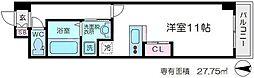 扇町第2マンション[3階]の間取り