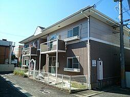 和歌山県御坊市薗の賃貸アパートの外観