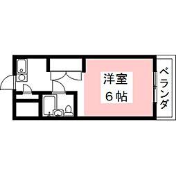 岐阜県瑞穂市稲里の賃貸アパートの間取り