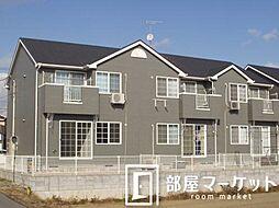 愛知県豊田市桝塚東町西郷前の賃貸アパートの外観