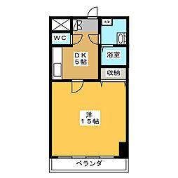 メゾンドベル8[3階]の間取り