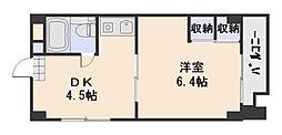 クレスト草津[1階]の間取り