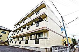 埼玉県越谷市南越谷5の賃貸アパートの外観