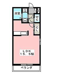 PARK SIDE 3[2階]の間取り