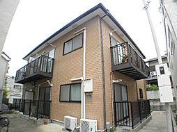 兵庫県芦屋市東山町の賃貸アパートの外観