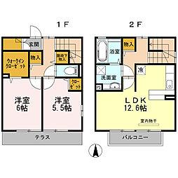 [一戸建] 長崎県大村市富の原2丁目 の賃貸【/】の間取り