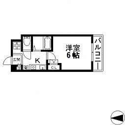 ウィダーホール23[501号室号室]の間取り