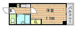 大宝長田ルグラン[401号室]の間取り
