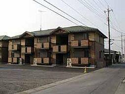 グリーンカースル A[1階]の外観