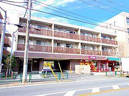 東京都練馬区南田中1丁目の賃貸アパートの外観