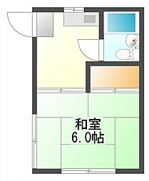 上野町アパート[2階]の間取り