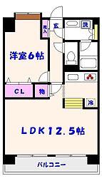 SATOMI-4番館[7階]の間取り
