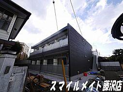 神奈川県鎌倉市材木座5丁目の賃貸アパートの外観