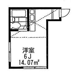 サクセス神之木台[2階]の間取り