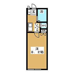 パトリリオーネ[2階]の間取り