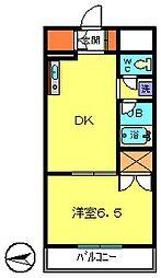 第2コースタルビル[5階]の間取り