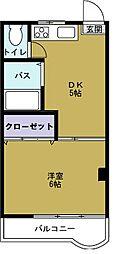 武智産業ビル[4階]の間取り