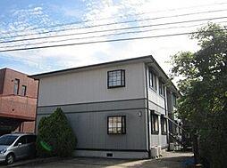 京都府京田辺市田辺の賃貸アパートの外観