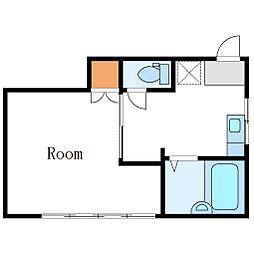 muranushiアパート[21号室]の間取り