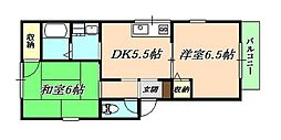 UMハウス[1階]の間取り