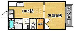 GANESHA994[202号室号室]の間取り